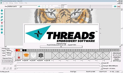 Threads Digitizing Software Program