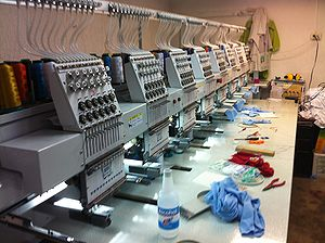 Butterfly B-1208B/T 8 head Embroidery Machine