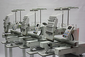 Butterfly Tri-1503B/T Three head Embroidery Machines
