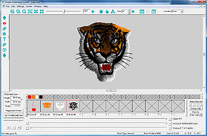 Screenshot of a tiger